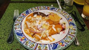 O delicioso jantar do Frida!